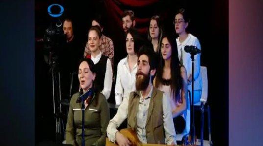 """აფხაზური სიმღერა """"აზამატი"""" თბილისელი სტუდენტების შესრულებით"""