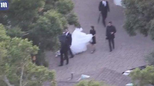 დიდებული ქორწილის კადრები კალიფორნიიდან
