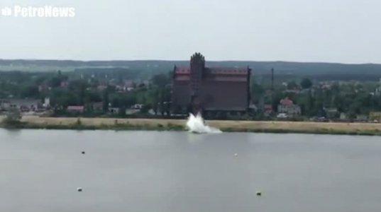 პოლონეთში ავიაშოუს დროს იაკ-52 ჩამოვარდა