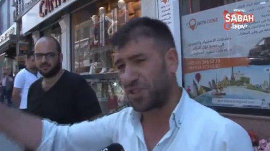 ქართველებსა და რუსებს შორის სტამბოლში შეიარაღებული დაპირისპირების კადრები
