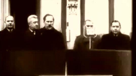 """ვიდეო ლიტვის დამოუკიდებლობისათვის მებრძოლ ლეგენდარულ პარტიზანებზე, ვიდეო """"ტყის ძმებზე"""""""