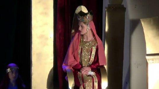 დედოფლისწყაროში ახალგაზრდული თეატრის მორიგი პრემიერა შედგა (ვიდეო)