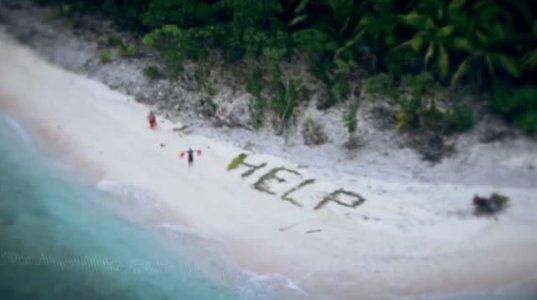 თვითმფრინავიდან გადაღებული სურათი და უკაცრიელ კუნძულზე აღმოჩენილი...ეს საშინელებაა