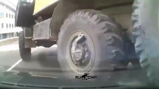გადაუარა მანქანას