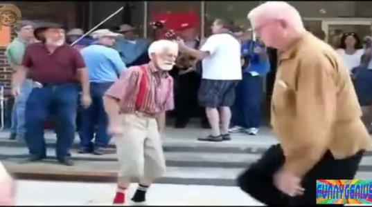 მოხუცი კაცის ცეკვა