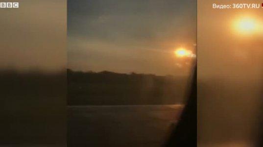 ურალის ავიახაზების თვითმფრინავი ფრინველების გუნდთან შეჯახების შემდეგ იძულებით სიმინდის ველზე დაეშვა