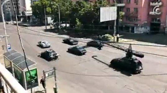 ფორსაჟის გადაღებები საბურთალოზე - რობერტო მავანის რეპორტაჟი (ვიდეო)