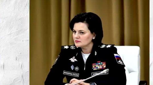 რუსეთის თავდაცვის მინისტრის მოადგილე ქალს, არმიის გენერალს სრულიად შეუსაბამო მედლები უკეთია