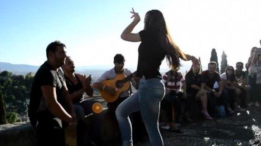 ესპანურის არანორმალურად ცეკვა