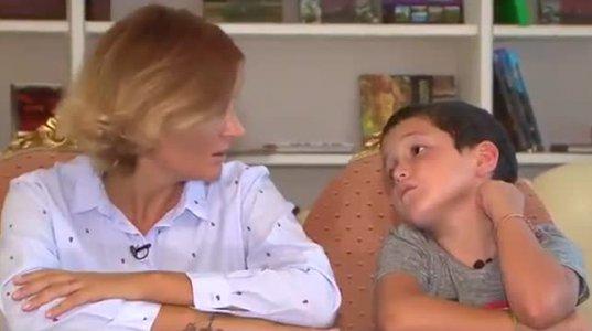 """""""არ მინდა, რო გათხოვდე, მამას რომ თავიდან შეუყვარდე"""" - ნანუკა ჟორჟოლიანის ვაჟი დედის გათხოვებაზე"""