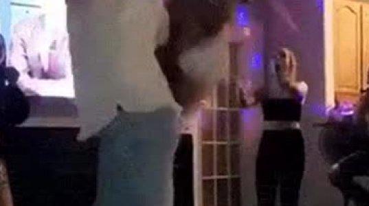 """ეს ცეკვის მცდელობა იყო თუ გოგოს """"კისრულის"""" ილეთით მოსროლა"""