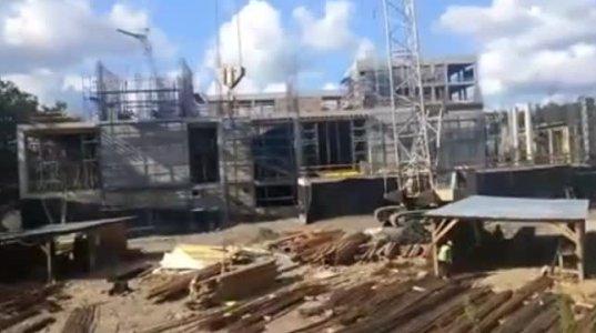 """""""ბაყაყები კი არა კვახი... შოკში ვარ, ეს რა ვნახე"""" - ვიდეო ქუთაისის ტექნიკური უნივერსიტეტის მშენებლობიდან"""