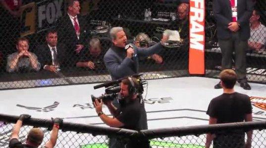 UFC ოქტაგონის ხმა - ბრიუს ბუფერი