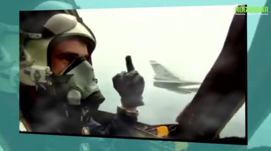 რატომ გადაასხა  ნატო-ს ავიამზიდს საწვავი რუსმა  მფრინავმა
