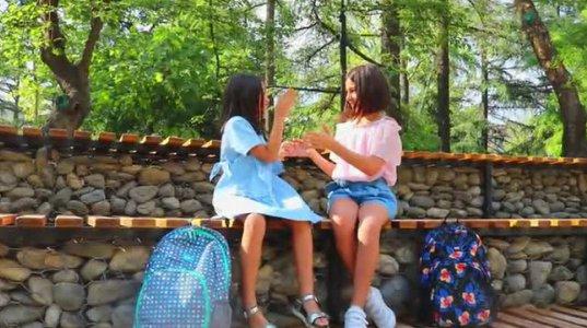 PONTO-ს ჩანთები სკოლის მოსწავლეებისთვის