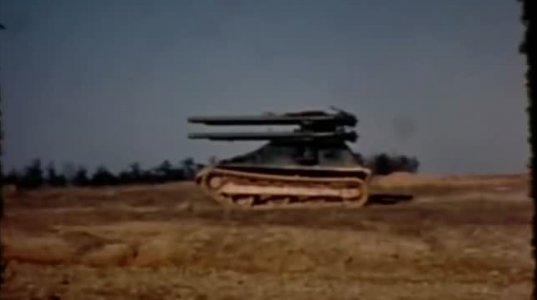"""6 ლულიანი თვითმავალი საარტილერიო დანადგარი """"M50 Ontos"""" , რომელიც გაგაოცებთ"""