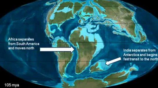შავი ზღვის დაბადება ტეთისის ოკეანისგან