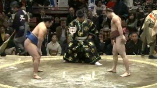 Chiyonokuni vs Takanoyama საუკუნის ჰენკა