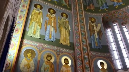სამების საკათედრო ტაძრის საკურთხევლის მოხატვა დასრულდა