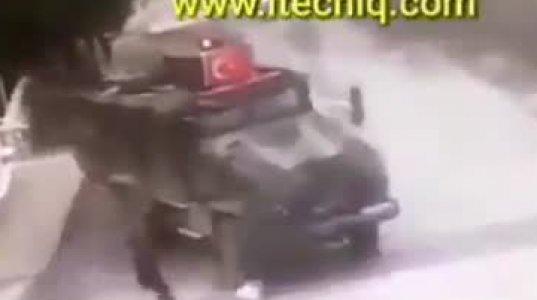 თურქი სამხედროები კლავენ სირიელ მოხუცს