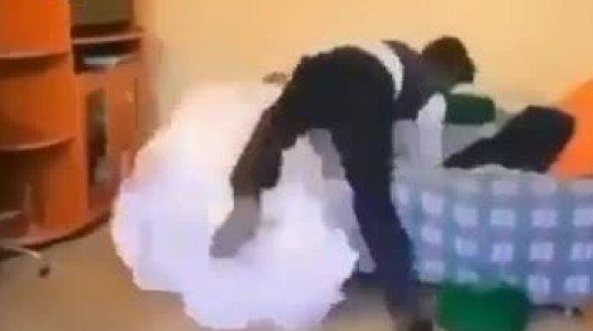 პირველი ღამეა და ვერ გავიგე პატარძალია უარზე თუ სიძე, ლამის დახოცეს ერთმანეთი