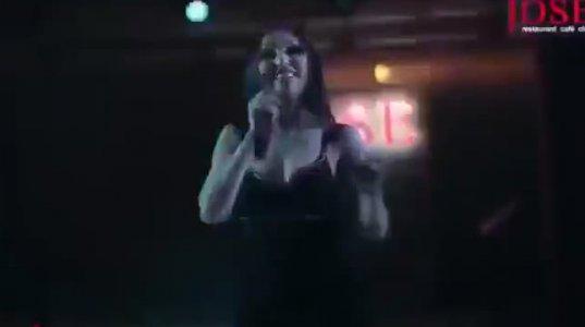 სომეხი გოგოს შესრულებული კარგი სიმღერა