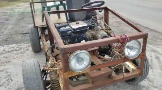500 ლარად აწყობილი ხელნაკეთი მანქანა