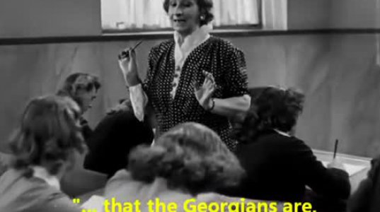 ფაშისტური იტალიის პერიოდის წარმოდგენები ქართველ კაცებზე