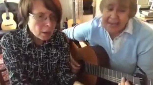 იმღერე რამე-შვედი ქალბატონების შესრულებით