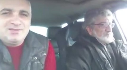 თემურ წიკლაურის და ბესო ჩუბინიძის LIVE ავტობანიდან, მანქანიდან ახალი სიმღერის პრემიერით