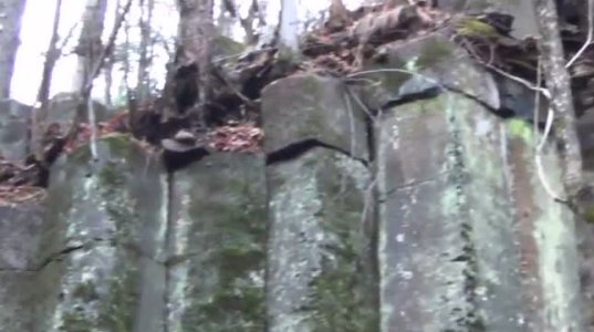 საიდუმლოებით მოცული კედელი ტაიგაში