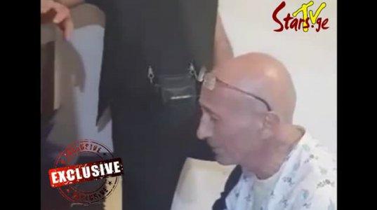 """ზურა დოიჯაშვილი ისრაელის სამედიცინო კლინიკაში, """"თბილისოს"""" მღერის (უნიკალური ვიდეო)"""