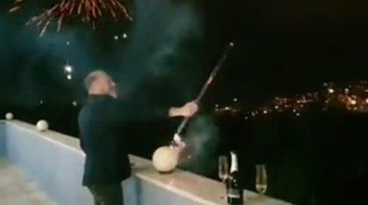 ნახეთ, რა დაემართა ახალი წლის ღამეს ივა კუზანოვს (ვიდეო)
