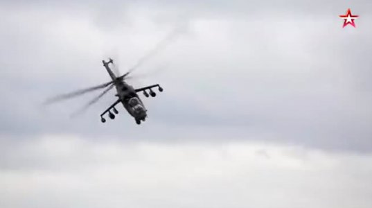 """რუსებმა წარმოადგინეს """"მი24""""-ის ღრმად მოდერნიზებული საექსპორტო ვერსია """"Ми-35П «Феникс»."""