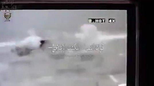 სირიის სამთავრობო არმიის მოდერნიზებული Т72-ის ეფექტური მუშაობა ღამის პირობებში