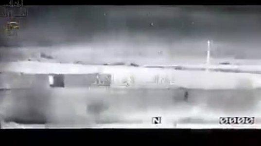 სირიის სამთავრობო არმიის ტანკის ეკიპაჟის წარმატებული მოქმედება ღამის პირობებში