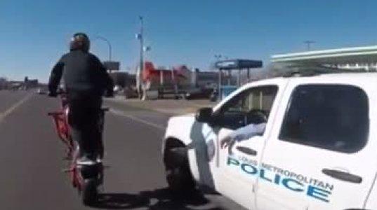 """პოლიციელებმა ყურადღება არ მიაქციეს """"ლიხაჩ"""" ბაიკერს, ალბათ იფიქრეს ეს არაა შორს წამსვლელიო"""