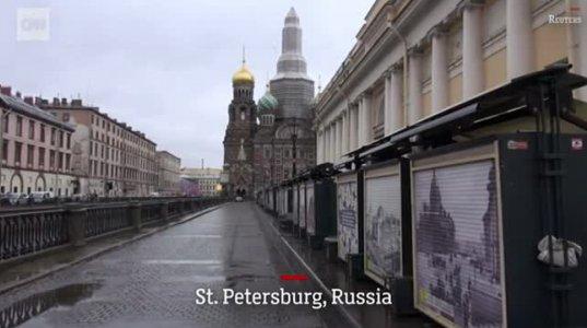პანდემიის შედეგად მოჩვენებად ქცეული მსოფლიოს ქალაქები