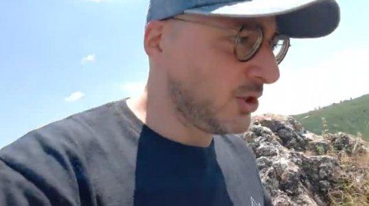 სოსო მიქელაძის ექსკურსია ხორნაბუჯის ციხეზე - ვიდეო
