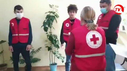 """""""წითელმა ჯვარმა"""" დედოფლისწყაროში მოხალისეები დააჯილდოვა  (ვიდეო)"""