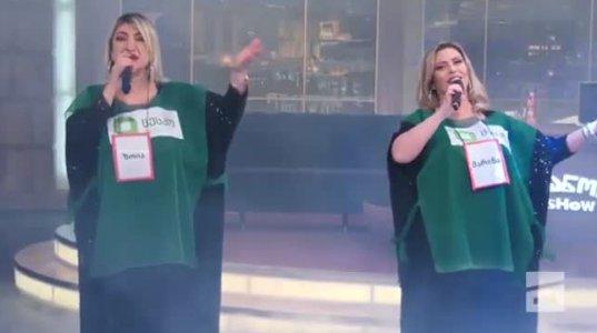 ვანოს შოუ | კოორდინატორების სიმღერა - ცესკოს მამალი ქალები
