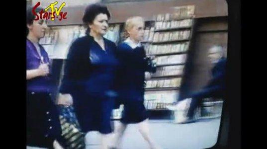 90-ანების უნიკალური ვიდეო, როგორები ვიყავით, რას ვიცმევდით, როგორი სახეებით დავდიოთ ქუჩაში