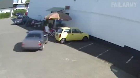 შეშლილი ავტომობილების მძღოლები, ნახეთ რას აკეთებენ