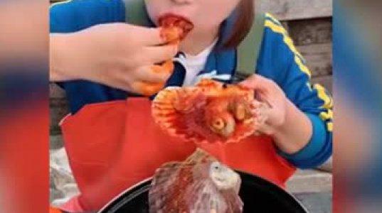 ძალიან უჩვეულო ზღვის პროდუქტები- აზიელების მუკბანგი