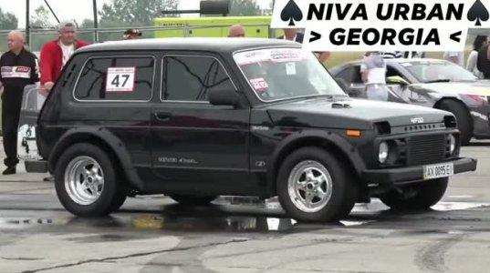 """""""ნივამ"""" ცნობილი ბრენდის მანქანებს შეჯიბრებისას არანაირი შანსი არ დაუტოვა სისწრაფით"""