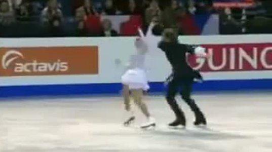 ქართული ცეკვა ყინულზე