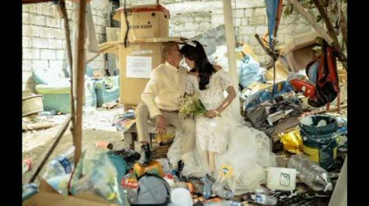 უსახლკარო წყვილის მოულოდნელი  ქორწილი
