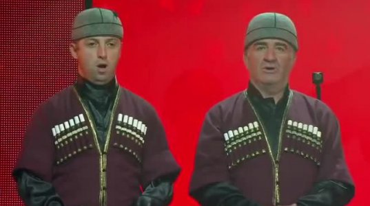 Svan Folklore - Western Georgian Highlanders - Ansamble Lagusheda